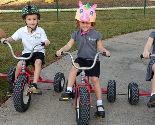 Oak Grove Academy children